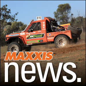 MAXXIS ON THE TOP RIG IN THE C.A.M.S AUSTRALIAN OFF ROAD CHAMPIONSHIP (AORC)