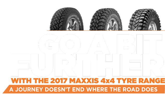 maxxis 4x4 tyres