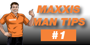 Maxxis Man Tip #1 – Rotate Your Tyres