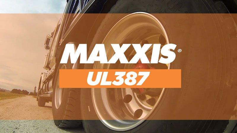 Maxxis UL387 Truck Tyre