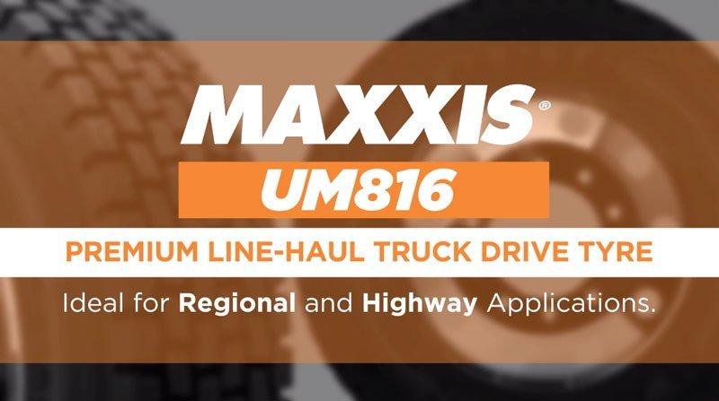 Maxxis UM816 Truck Tyre