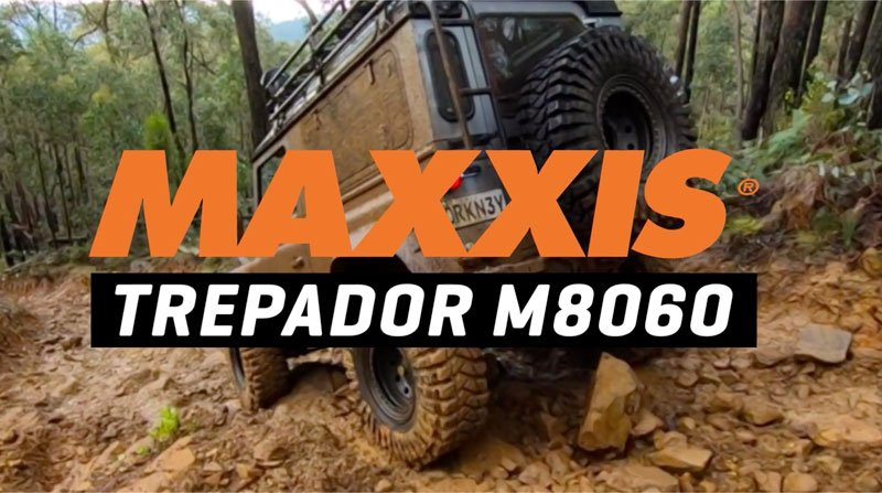 Maxxis Treps in the Mud