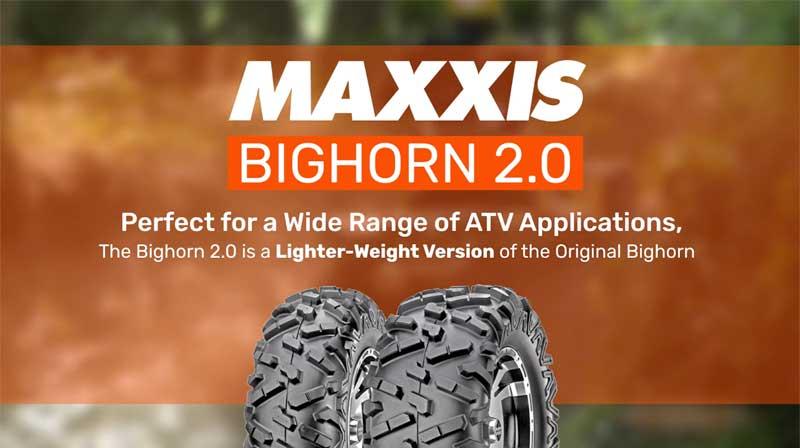 Maxxis Bighorn 2.0 ATV Tyre