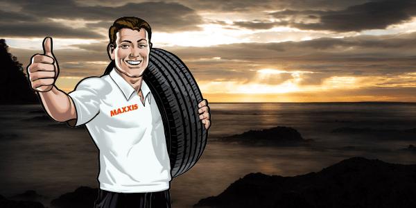 Maxxis Man's Great Australian Road Trip Bucket List